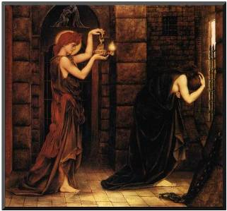Hope in a Prison of Despair, Evelyn De Morgan